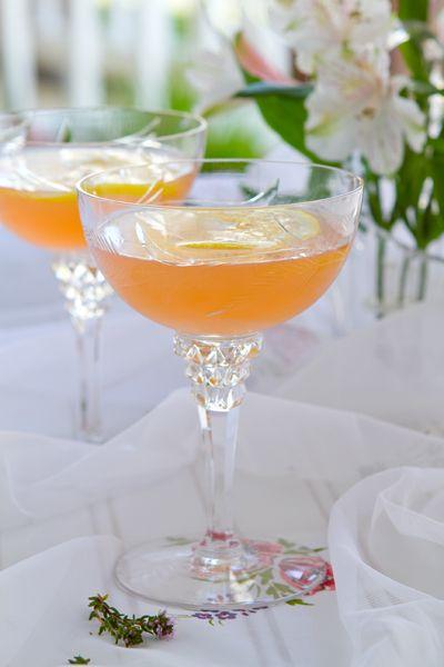 Lillet Rose Spring Cocktail Recipe   Martha …
