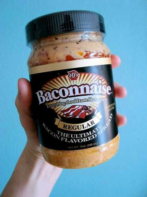 Bacon mayonnaise | Weird bacon things | Pinterest