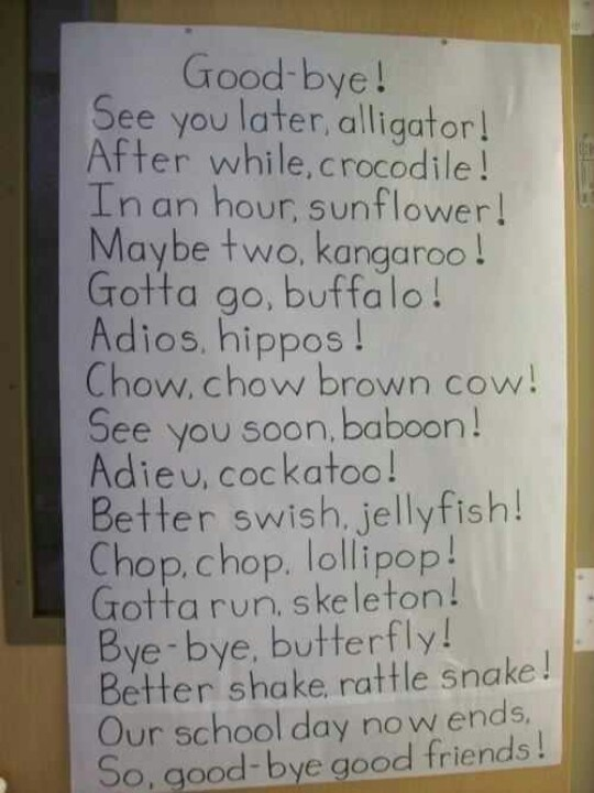 Cute ways to say goodbye ahahahhaha i laughed xd pinterest