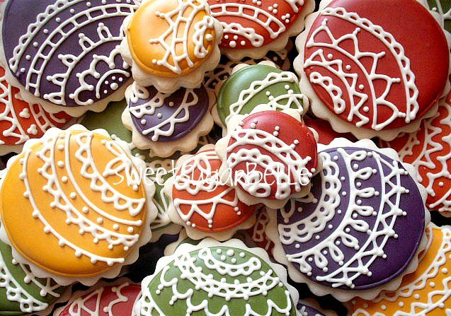 Lace Christmas cookies | Baking | Pinterest