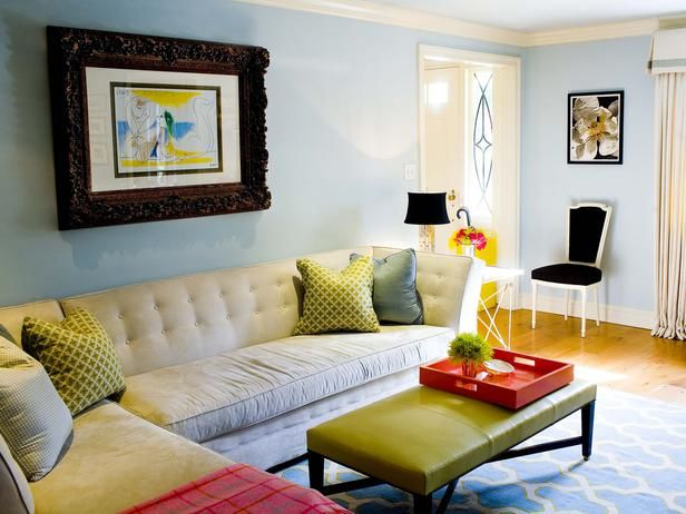 soft blues and grass green room by mona ross berman 20 living room