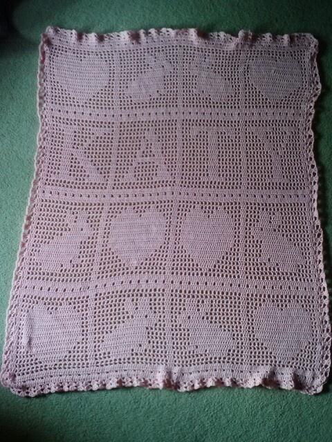 Filet Crochet : Filet crochet afghan Knit, Sew, Crochet Pinterest