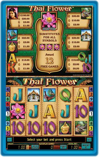 thai flowers game