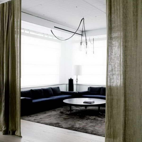 Pinterest - Curtain room dividers ...