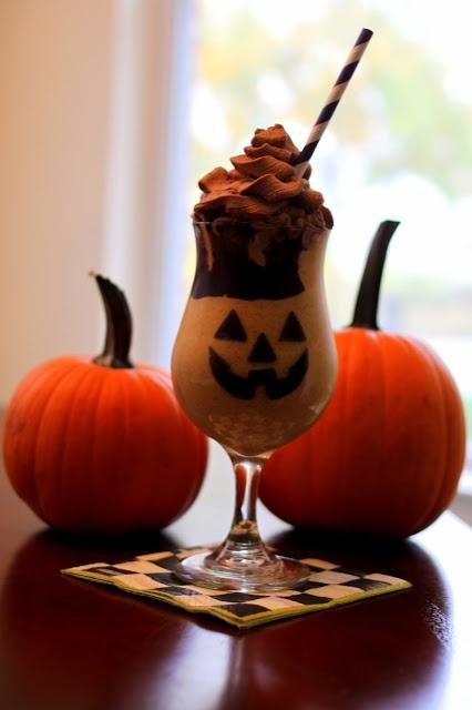 Frozen Pumpkin Mudslides - The Halloween Drink Recipe — Dishmaps