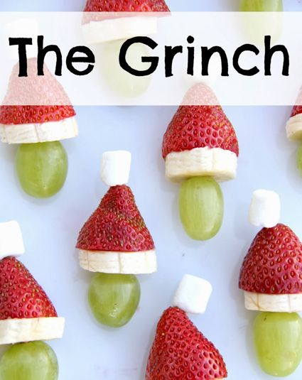 Easy Holiday Dessert The Grinch Food Pinterest