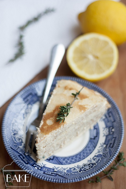 Lemon and Mascarpone Crepe Cake | Blog Photos | Pinterest