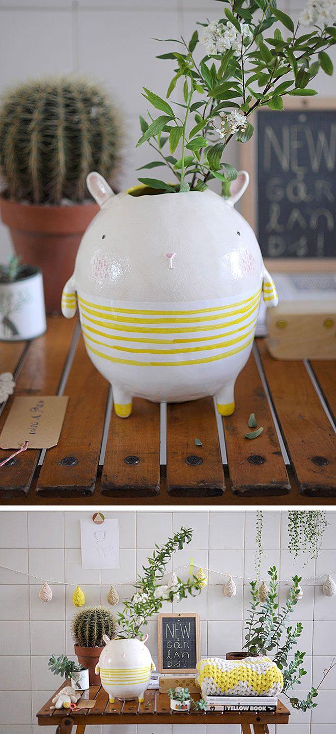 cute ceramics byMiga de Pan