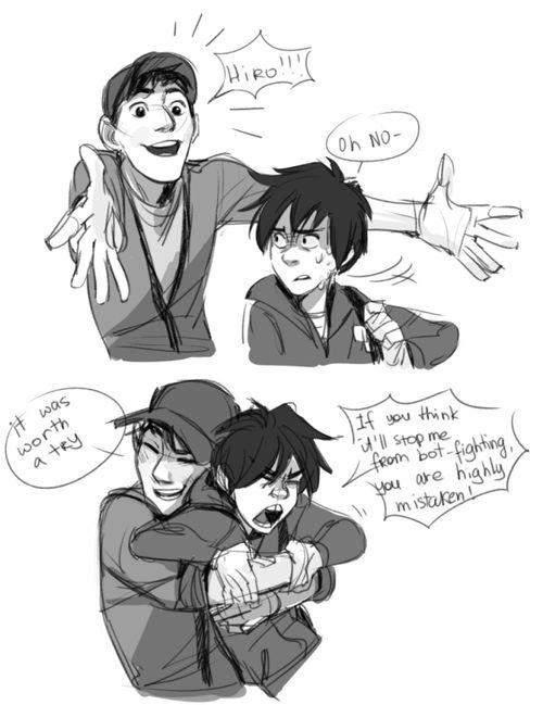 Tadashi And Hiro Big Hero Comic