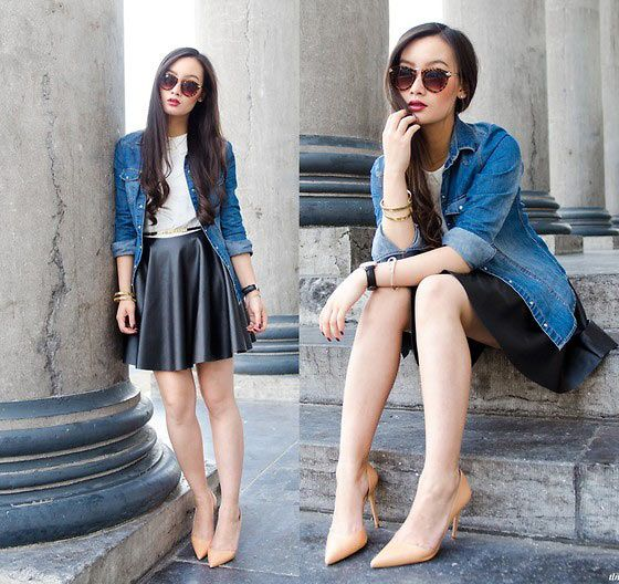 How to Dress Up Denim Clothing | Fashionu0026Style | Pinterest