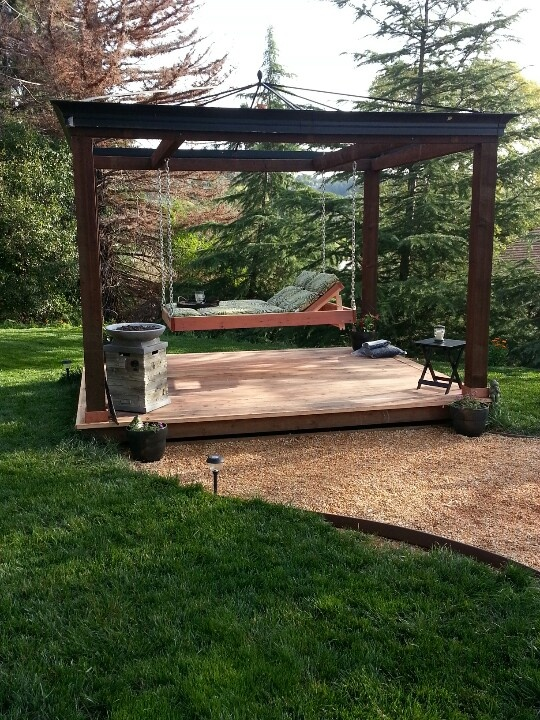 Quotes Of Inspiration And Love Our backyard oasis   h...