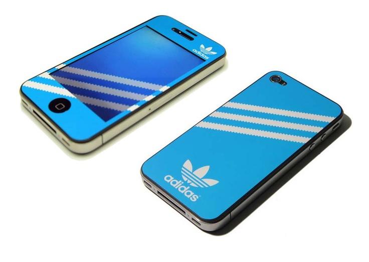 New Stickers Adidas For iPhone 4    www.creativeboysc...