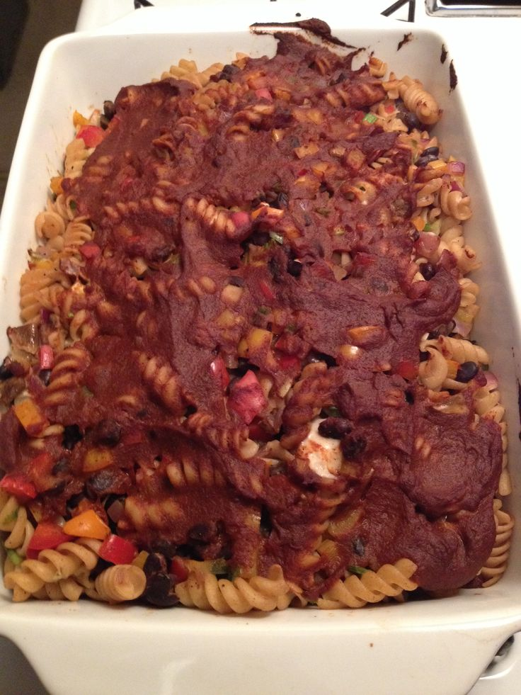 naughty amp nice vegan enchilada casserole from ohsheglows com