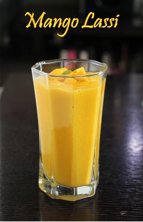 Mango lassi | Drinks | Pinterest