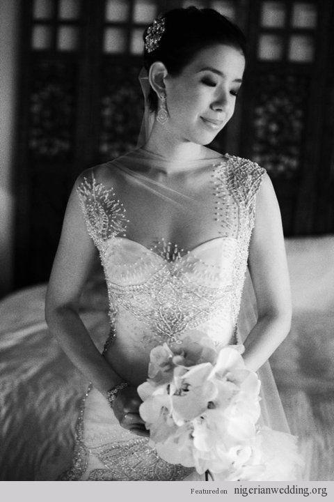Nigerian Wedding: Exquiste Wedding Gowns With Excellent Craftmanship By Veluz Reyez  