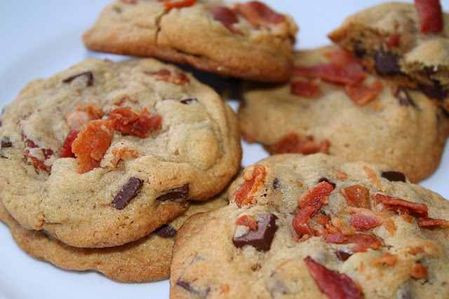 Bacon Chocolate Chip Cookies | Sweet Tooth | Pinterest