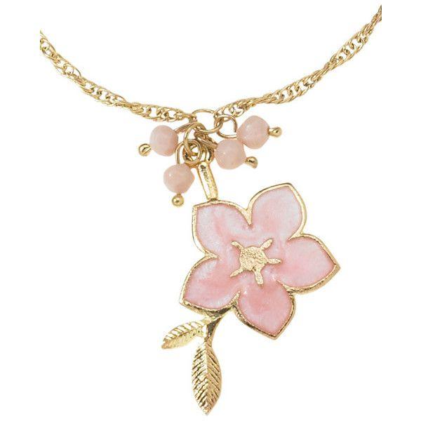 cherry blossom necklace the blossom warrior