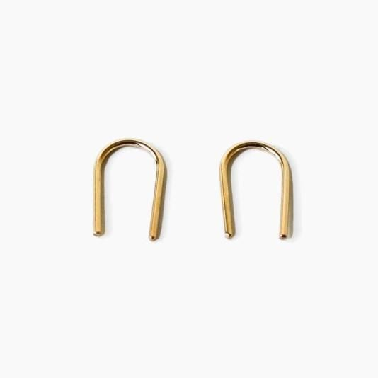 The Short Arc earrings that go with EVERYTHING.