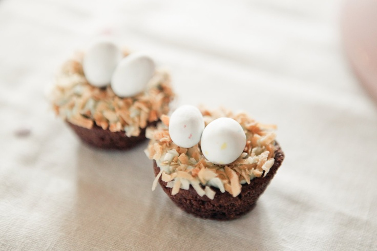 Nest cupcakes | Events by Shelbi Rene | Pinterest