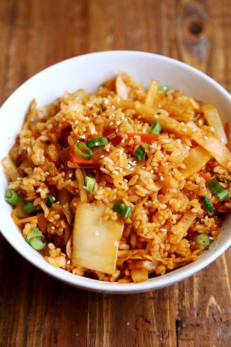 Kimchi Fried Rice Recipe — Dishmaps