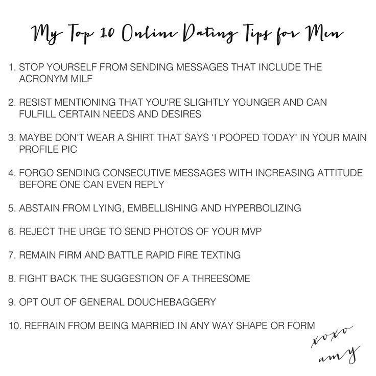 online dating top tips