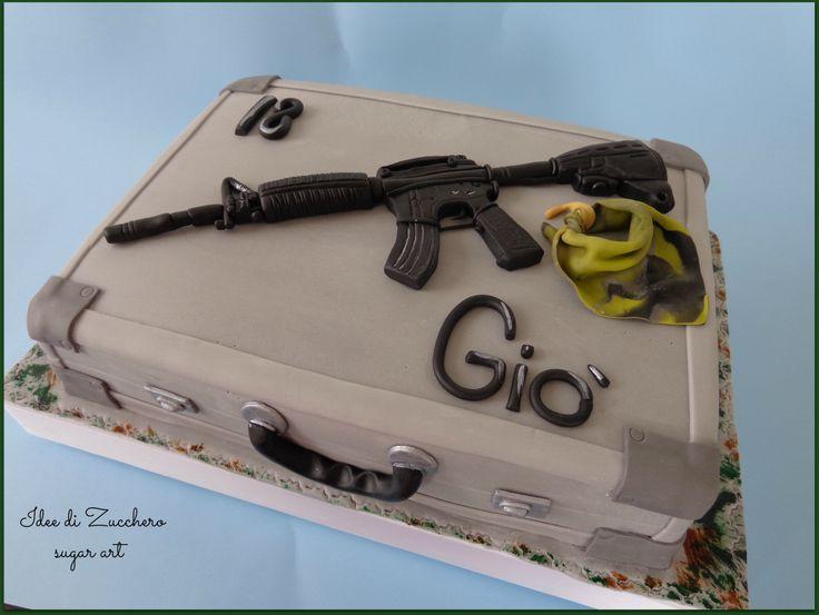 Airsoft Gun Cake Ideas