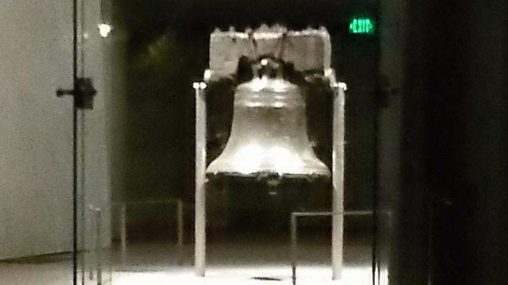 Philadelphia, Penn:  Saw the Liberty Bell.
