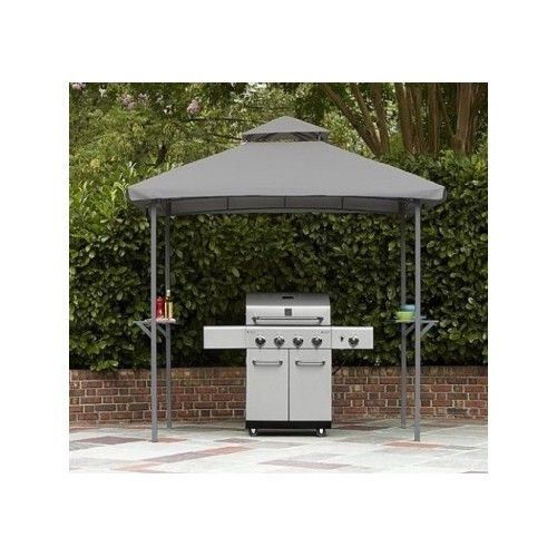 Backyard Grill Gazebo BBQ Patio Shade Cover Canopy Umbrella Tent