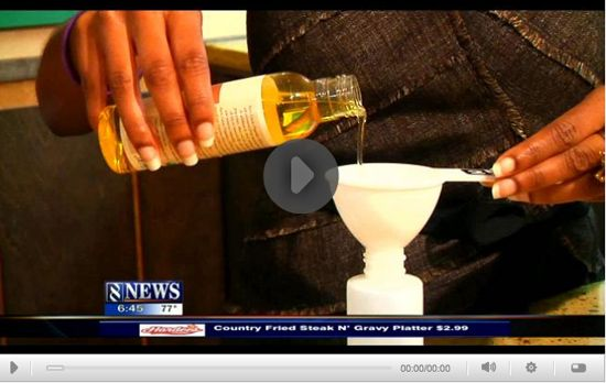 How to Make Your Own Organic Insect Repellant with essential oils such as citronella, lavender, cedarwood and especially lemon eucalyptus and a carrier oil that you likely have at home. Click through to the website and then click on the link below the image to access the video. #Megan_Jones  #ellwoodthompson