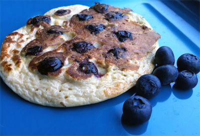 Blueberry Oat Pancakes | Healthy Recipes & Weight Watchers | Pinterest