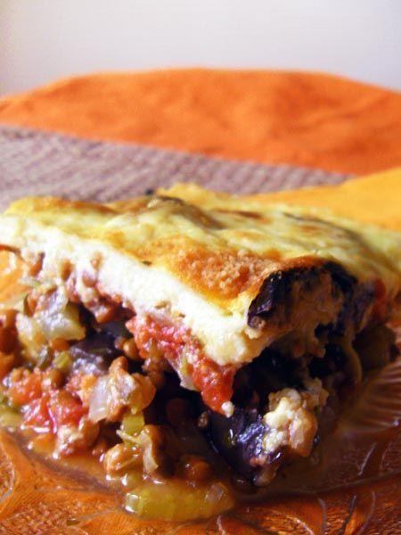 Vegetarian Moussaka | SAS does ...: Vegetarian Moussaka