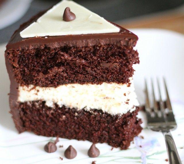 Chocolate Cake w/White Chocolate Mousse | Ohla chocola ...