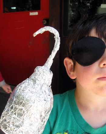 Activities: Make a Pirate Hook! (Talk Like a Pirate Day)