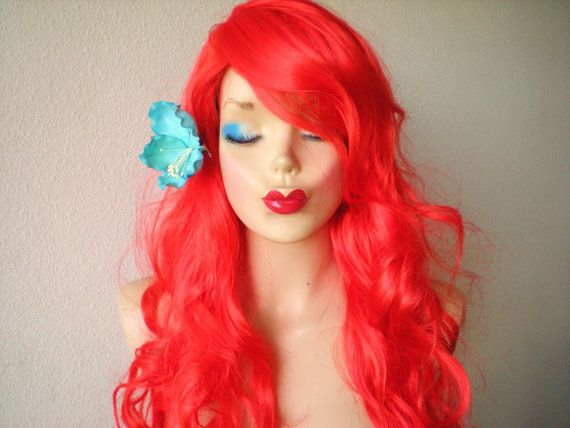 Long Red Poison Ivy Wig 117