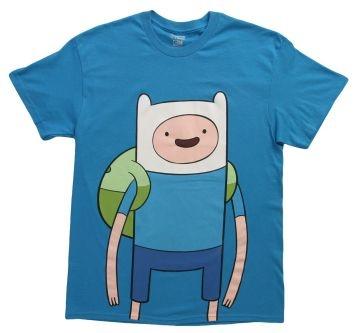 Great Large Finn for the Finn Fans on Adventure Time!  #Finn #adventure #adventuretime #tv #shows #shirt #shirts #t-shirt #t-shirts #funny #men #women