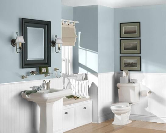 Sherwin Williams Sleepy Blue Bathroom Sleepy blue by sw