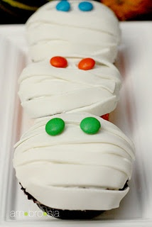 Mummy Cupcakes | Cupcakes | Pinterest