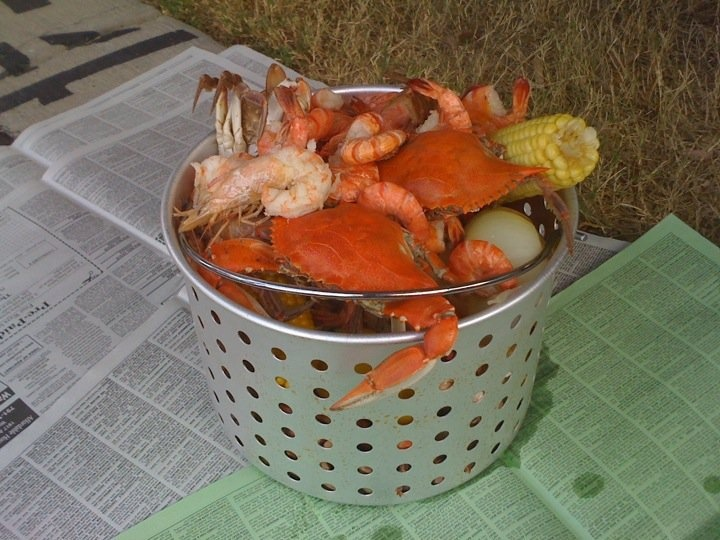 Seafood low country boil | Low country boil | Pinterest