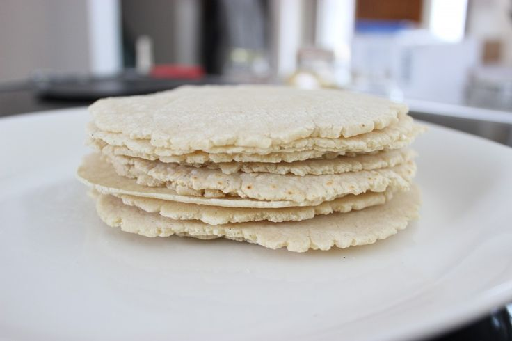 homemade corn tortillas -- What a great way to make your own ...