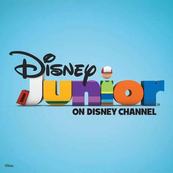 Disney junior children s logos pinterest