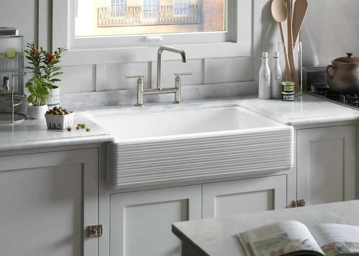 Drop In Apron Front Sink : launches! This gorgeous