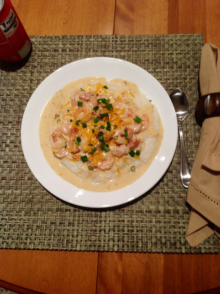shrimp amp grits paula deen s recipe but with beacon