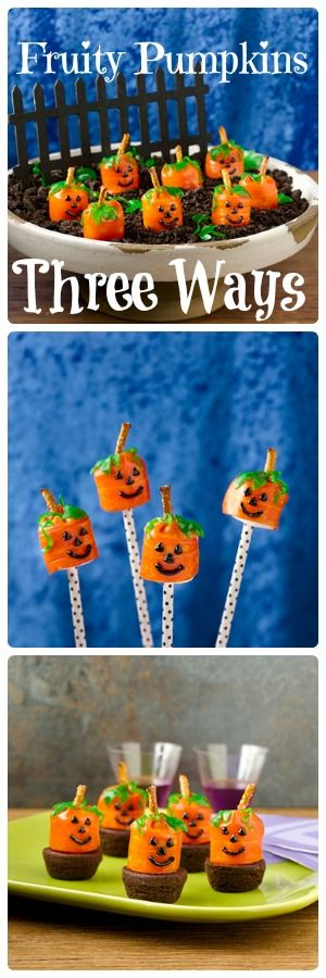 Fruity Pumpkins: Three Ways!