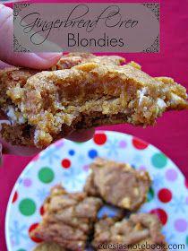 ... blondies gingerbread oreo blondies chocolate cherry blondies hazelnut