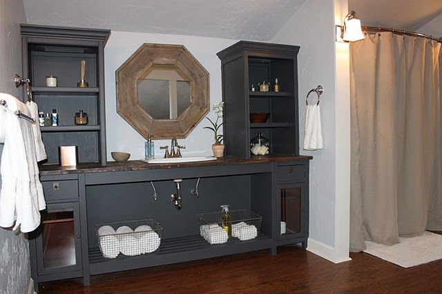 make your own vanity for the home pinterest
