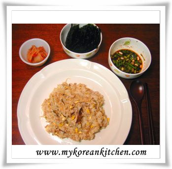 Soy Bean Sprouts and Rice (Kongnamul bap) | Recipe