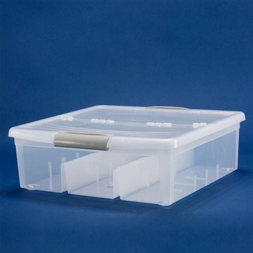 Iris Media Storage Box - Large : Plastic Book, Photo, DV Video Boxes
