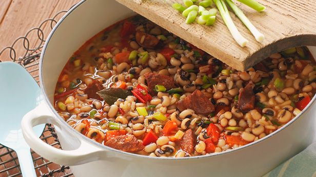 Dish up New year's luck. Try this Hoppin' John recipe and start a ...