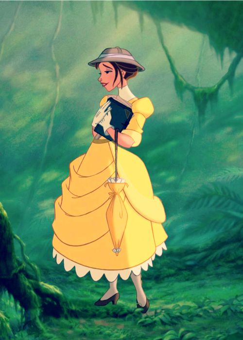Jane. One of my favorite female Disney protagonists.