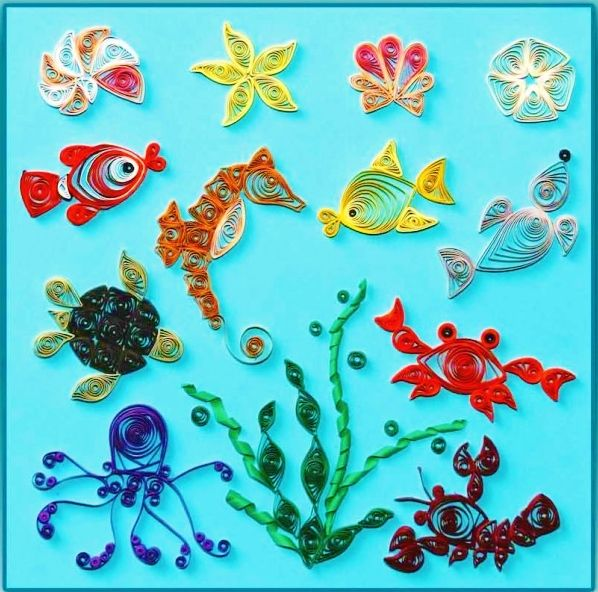Quilled Creations : Under The Sea | Quilling | Pinterest